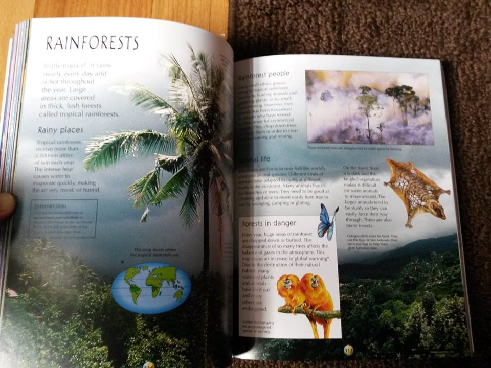 The Usborne Geography Encyclopedia with Complete World Atlas2