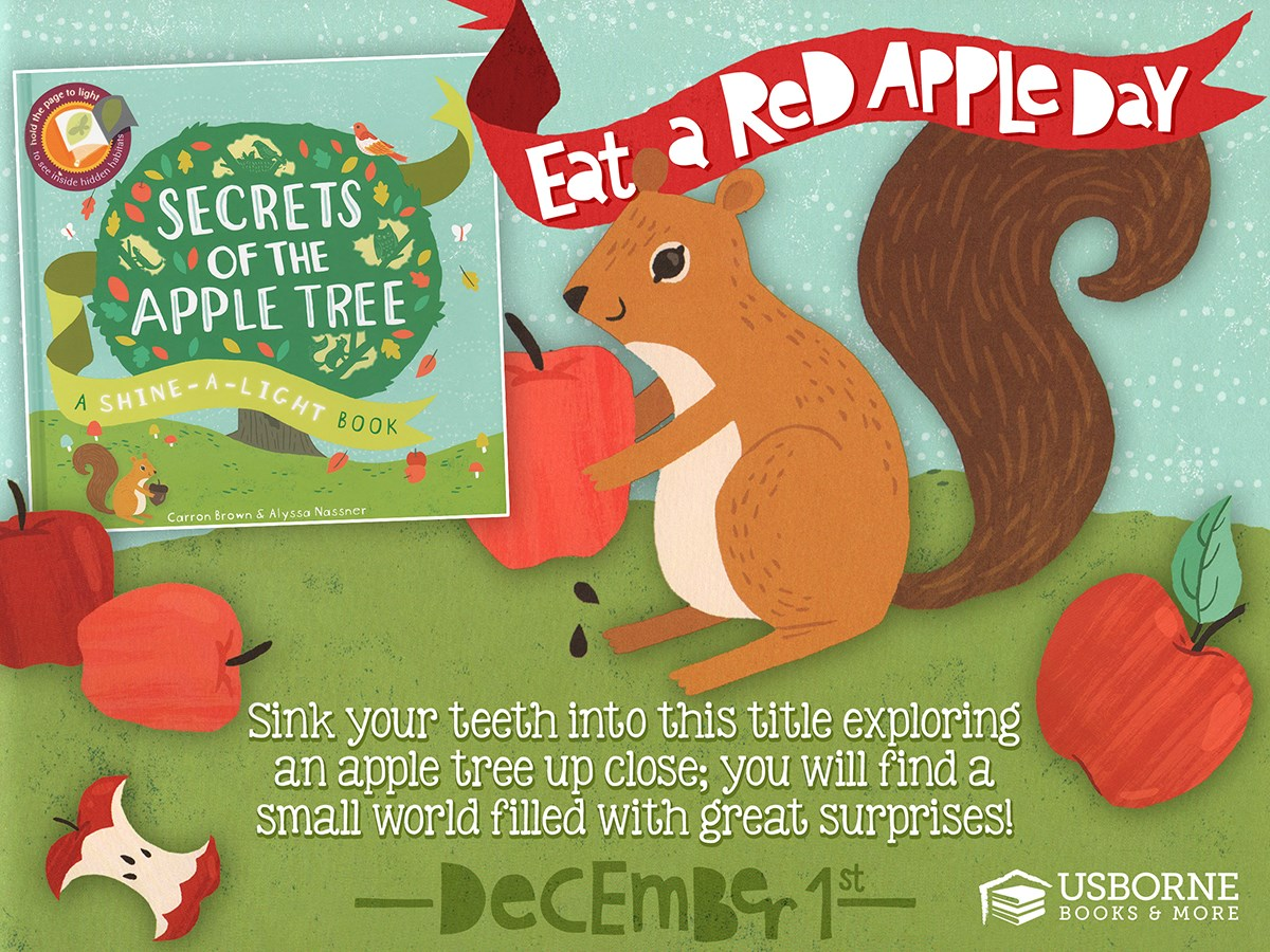 Eat a Red Apple Day - December 1