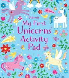 My First Unicorns Activity Pad