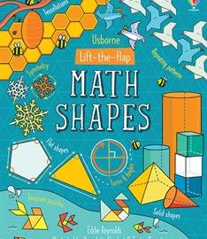 Lift-the-Flap Math Shapes (IR) - Usborne Books & More