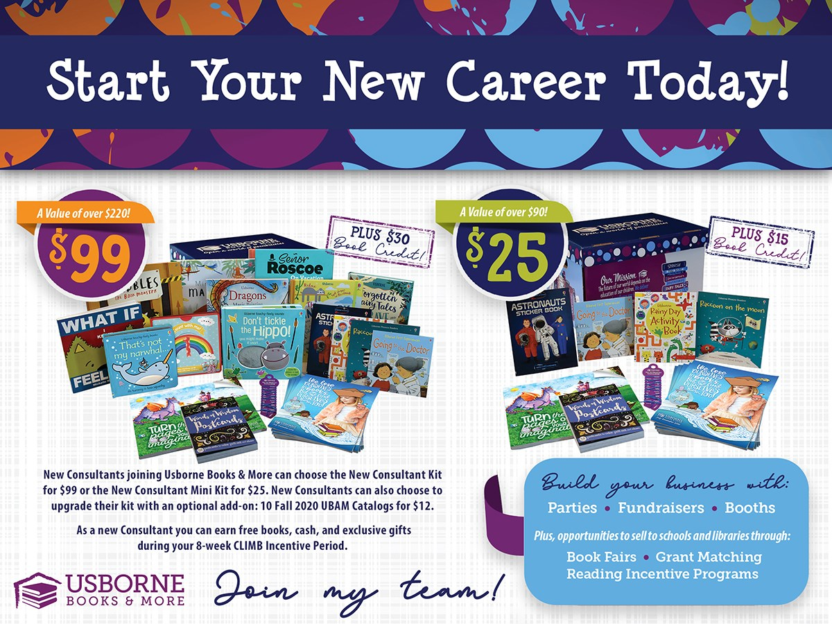 Become an Usborne Books consultant