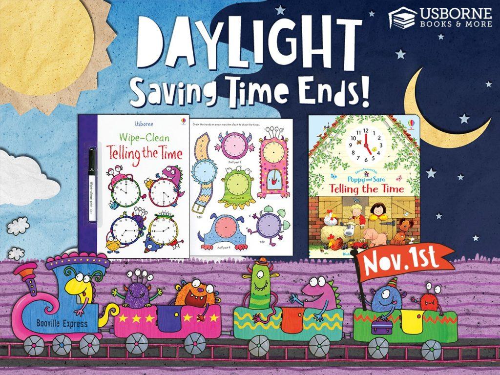 Daylight Saving Time Ends!