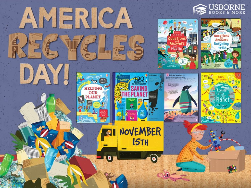 America Recycles Day is November 15th!