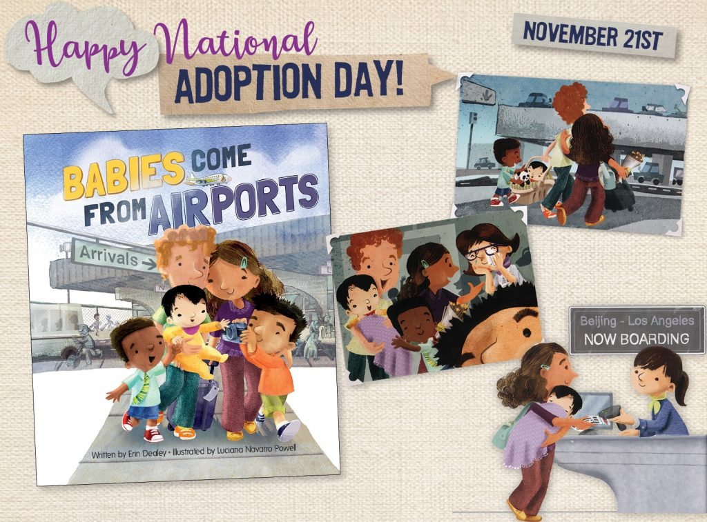 National Adoption Day is November 21, 2020.